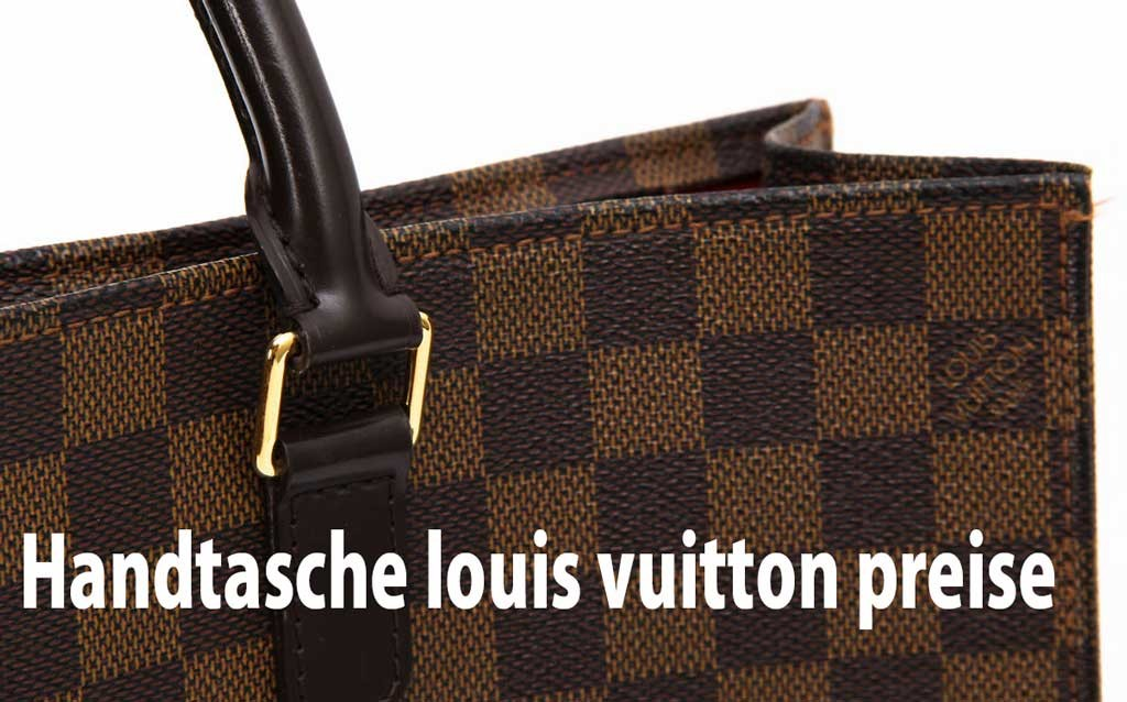 handtasche louis vuitton preise 2016 cloversac. Black Bedroom Furniture Sets. Home Design Ideas